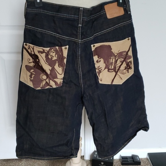 Ecko Unlimited Other - Men's Ecko Unltd Baggy-Fit Jean Shorts:34